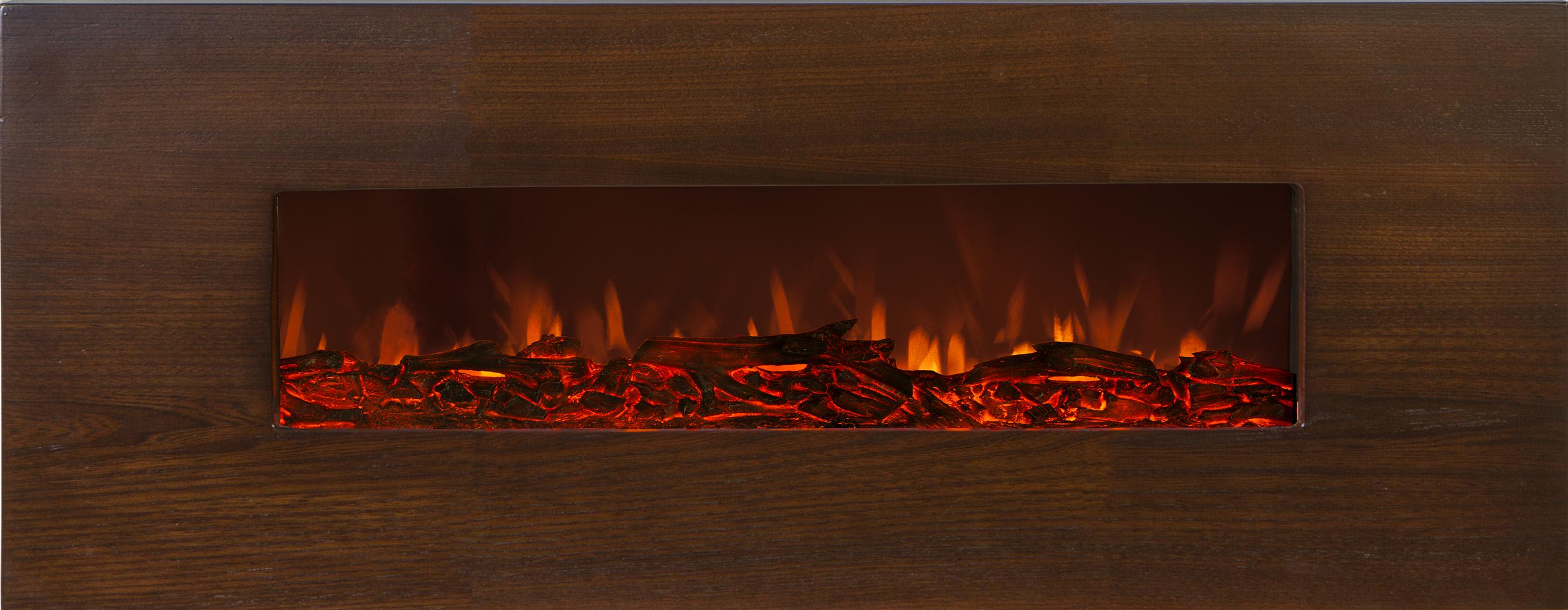 شومینه چوبی دیواری