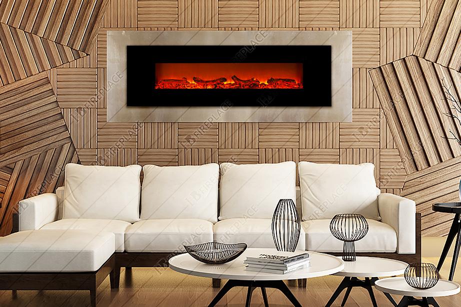 شومینه | شومینه برقی | اچ بی | اچ بی 023 | شومینه ال سی دی | شومینه LCD اچ بی Firewood