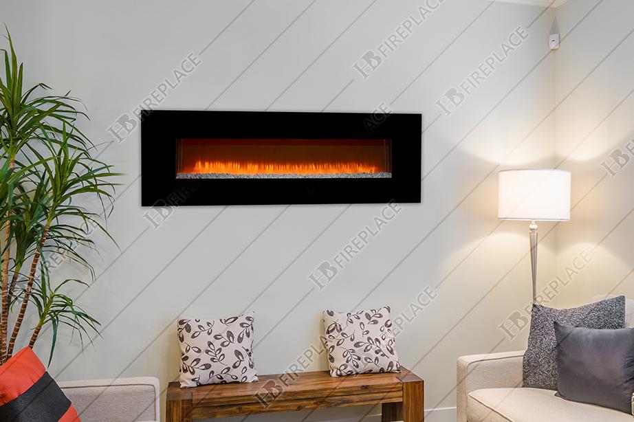 شومینه | شومینه برقی | اچ بی | اچ بی 023 | شومینه ال سی دی | شومینه LCD اچ بی silica