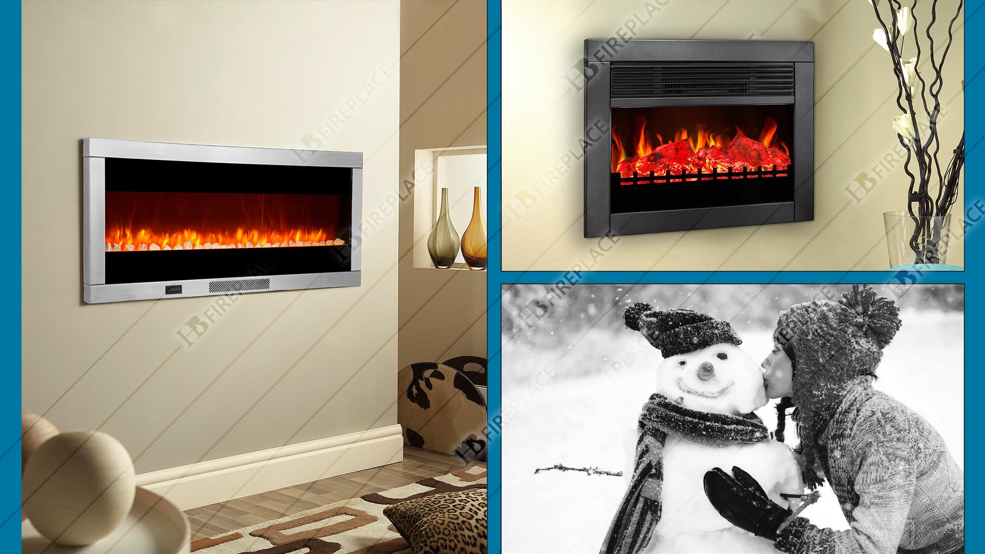 شومینه | شومینه برقی زمینی| شومینه زمینی طلایی|اچ بی ۰۳3 | HB fireplace | HB electric fireplace |
