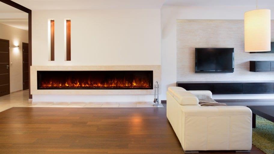 fireplace livingroom white