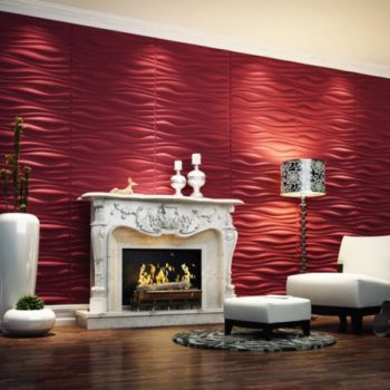 red-wallpaper-designs-for-living-room