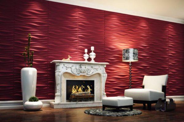 red-wallpaper-designs-for-living-room